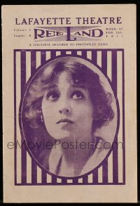 8s027 LAFAYETTE THEATRE program 1917 Mary Pickford in Cinderella & more!