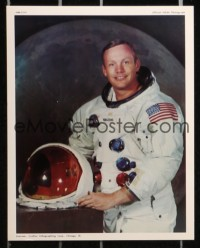 8s047 NASA group of 12 color 7.25x9.25 photo prints 1969 official photographs with facts sheet!