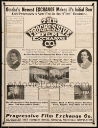 8s022 PROGRESSIVE FILM EXCHANGE promo brochure 1910s cool advertisements including Mutt & Jeff!