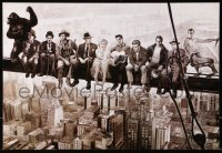 9c190 HOLLYWOOD LEGENDS 15x21 Chilean commercial poster 1990s sitting on girder!