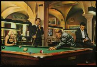 9c189 HOLLYWOOD LEGENDS 15x21 Chilean commercial poster 1990s playing pool!