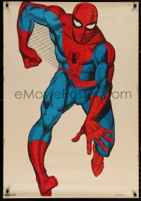 9c198 SPIDER-MAN 28x41 commercial poster 1966 cool artwork of comic book superhero, Spidey!