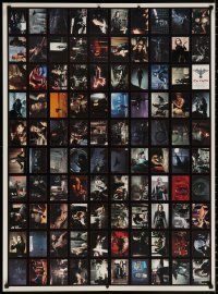9c260 CROW 28x38 uncut trading card sheet 1994 Brandon Lee's final movie, cool images!
