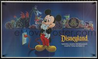 9c264 DISNEYLAND 2-sided 21x35 special poster 1996 Mickey and the Main Street Electrical Parade!