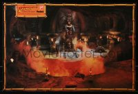 9c273 INDIANA JONES & THE TEMPLE OF DOOM 2-sided 20x29 special poster 1984 Harrison Ford, Capshaw!