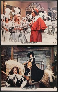 9g375 THREE MUSKETEERS 8 color 11x14 stills 1974 Michael York, Alexandre Dumas, top stars!