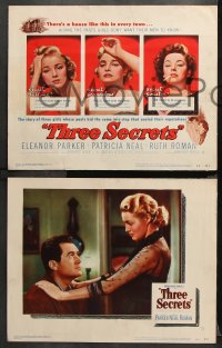 9g376 THREE SECRETS 8 LCs 1950 a house hiding the pasts girls don't want their men to know!