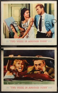 9g387 TWO WEEKS IN ANOTHER TOWN 8 LCs 1962 Kirk Douglas & sexy Cyd Charisse, Edward G. Robinson!