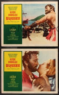 9g390 ULYSSES 8 LCs R1960 cool different images of Kirk Douglas & sexy Silvana Mangano!