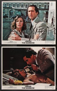 9g392 UNDER THE RAINBOW 8 LCs 1981 Chevy Chase, Carrie Fisher, Eve Arden, wacky fantasy!