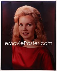 9h005 CARROLL BAKER 16x20 transparency 1960s head & shoulders portrait of the pretty blonde!