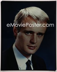 9h009 DAVID MCCALLUM 16x20 transparency 1960s great head & shoulders portrait in suit & tie!