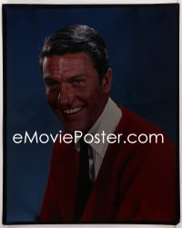 9h010 DICK VAN DYKE 16x20 transparency 1960S great head & shoulders portrait smiling really big!