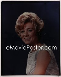 9h012 INGER STEVENS 16x20 transparency 1958 smiling portrait of the pretty blonde troubled actress!