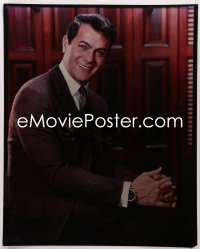 9h031 TONY CURTIS 16x20 transparency 1960s great seated smiling portrait with his hands clasped!