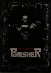 9x004 PUNISHER: WAR ZONE lenticular 1sh 2008 great image of Ray Stevenson with several guns!