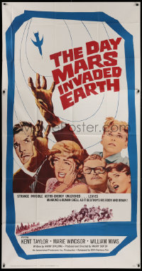 1f004 DAY MARS INVADED EARTH 3sh 1963 their brains were destroyed by alien super-minds!