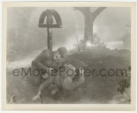 1f029 WOLF MAN 8.25x10 still 1941 Lon Chaney Jr. as the monster over his gravedigger victim!