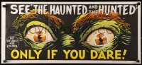 1f015 DEMENTIA 13 horizontal teaser Aust daybill 1963 Francis Ford Coppola, The Haunted & the Hunted!