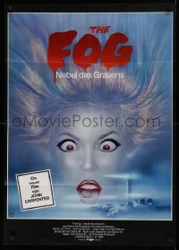 1f044 FOG German 1980 John Carpenter, cool different horror artwork by Michel Landi!