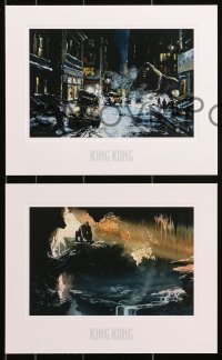 1f024 KING KONG set of 4 limited edition art prints 2005 concept art for Peter Jackson's movie!
