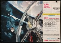 1f022 2001: A SPACE ODYSSEY Cinerama Italian promo brochure 1968 cool mail-in contest, ultra rare!