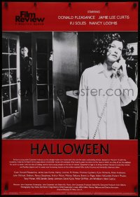 1g066 HALLOWEEN 24x34 English commercial poster 2000s John Carpenter classic, Michael Myers!
