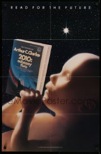 1g019 2010 22x34 special poster 1984 read for the future, sci-fi sequel to 2001: A Space Odyssey!