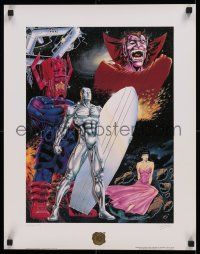 1g030 SILVER SURFER signed #425/2500 limited edition 17x23 Canadian art print 1990 by Ron Lim!