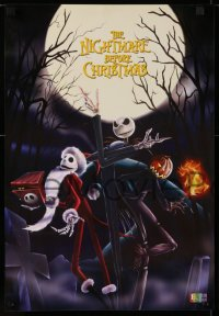 1g008 NIGHTMARE BEFORE CHRISTMAS set of 3 15x21 Chilean commercial posters 1990s Tim Burton, Disney!