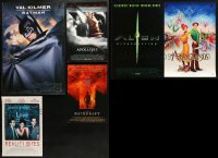 1m037 LOT OF 10 UNFOLDED MINI POSTERS 1990s-2000s a variety of cool movie images!