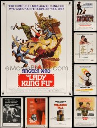 1m004 LOT OF 12 1970S 30X40S 1970s great images from a variety of different movies!