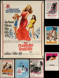 1m008 LOT OF 8 1960S 30X40S 1960s great images from a variety of different movies!