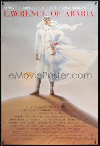 1r703 LAWRENCE OF ARABIA int'l 1sh R1989 David Lean classic starring Peter O'Toole!