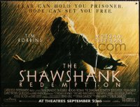 1s012 SHAWSHANK REDEMPTION subway poster 1994 classic image of Tim Robbins, written by Stephen King