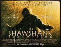 2b013 SHAWSHANK REDEMPTION subway poster 1994 classic image of Tim Robbins, written by Stephen King
