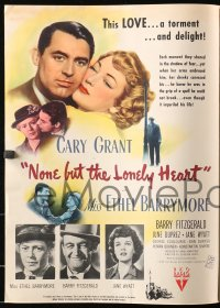 2b034 NONE BUT THE LONELY HEART promo brochure 1944 Cary Grant, sent by RKO to exhibitors, rare!