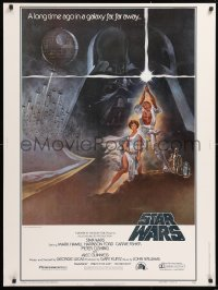 2d004 STAR WARS style A 30x40 1977 George Lucas classic sci-fi epic, iconic art by Tom Jung!