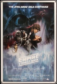 2d179 EMPIRE STRIKES BACK 40x60 1980 classic Gone With The Wind style Roger Kastel art!