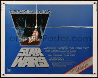 2d040 STAR WARS 1/2sh R1982 George Lucas, art by Tom Jung, advertising Revenge of the Jedi!