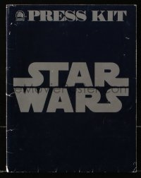 2d066 STAR WARS presskit 1977 A New Hope, George Lucas sci-fi classic epic, folder only!