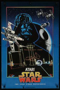 2d051 STAR WARS 20x30 special poster 1983 The Coin Video Experience, Atari, cool montage art!