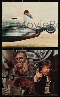2d058 STAR WARS 8 color deluxe 8x10 stills 1977 George Lucas classic epic, Luke, Leia, great images!