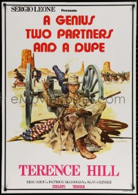 2f030 GENIUS, TWO FRIENDS & AN IDIOT Lebanese 1975 Leone, Terence Hill by Tealdi & Ferracci!