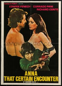 2f033 SECRETS OF A CALL GIRL Lebanese 1973 sexy naked Edwidge Fenech, Corrado Pani, Richard Conte