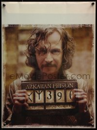 2k001 HARRY POTTER & THE PRISONER OF AZKABAN lenticular 14x19 special poster 2004 Sirius Black, rare!