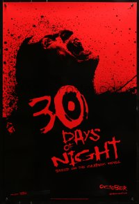 2r017 30 DAYS OF NIGHT teaser DS 1sh 2009 Josh Hartnett & Melissa George fight vampires in Alaska!