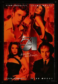 2r022 54 advance 1sh 1998 Ryan Phillipe, Salma Hayek, Neve Campbell, Mike Myers as Rubell!