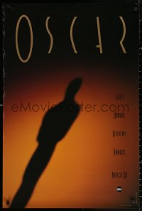 2r003 64TH ANNUAL ACADEMY AWARDS 24x36 1sh 1992 cool shadowy image of Oscar!