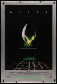 2r036 ALIEN style B DS 1sh R2003 Ridley Scott outer space sci-fi monster classic, cool egg image!